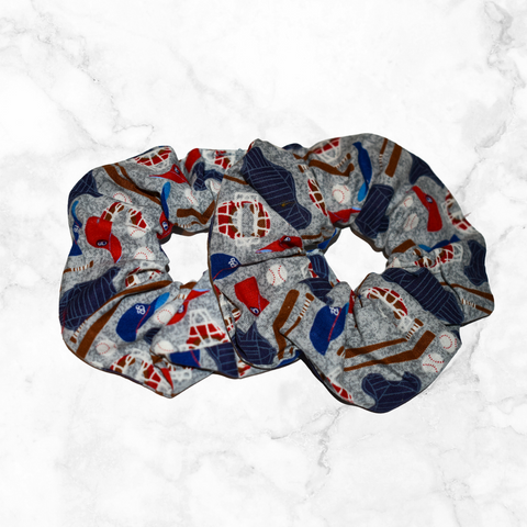 Baseball Catcher's Gear | scrunchies