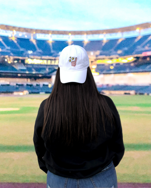 Ballpark Vibes Logo | dad hat