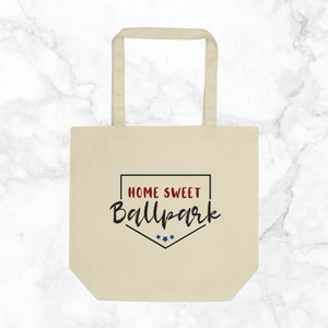 Home Sweet Ballpark | tote bag