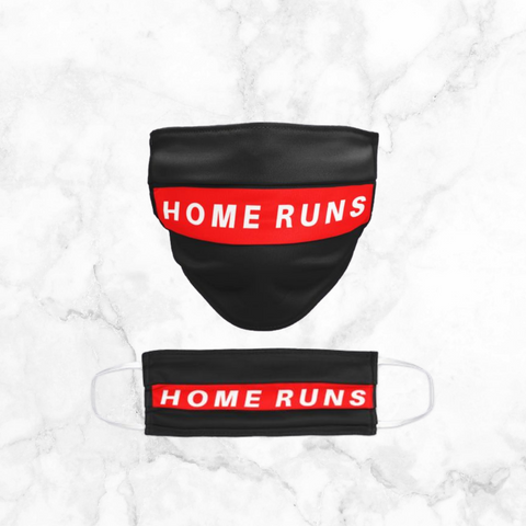 home runs | face mask
