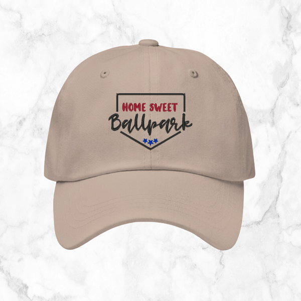 home sweet ballpark | dad hat
