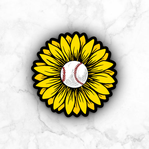 Sunflower | vinyl sticker