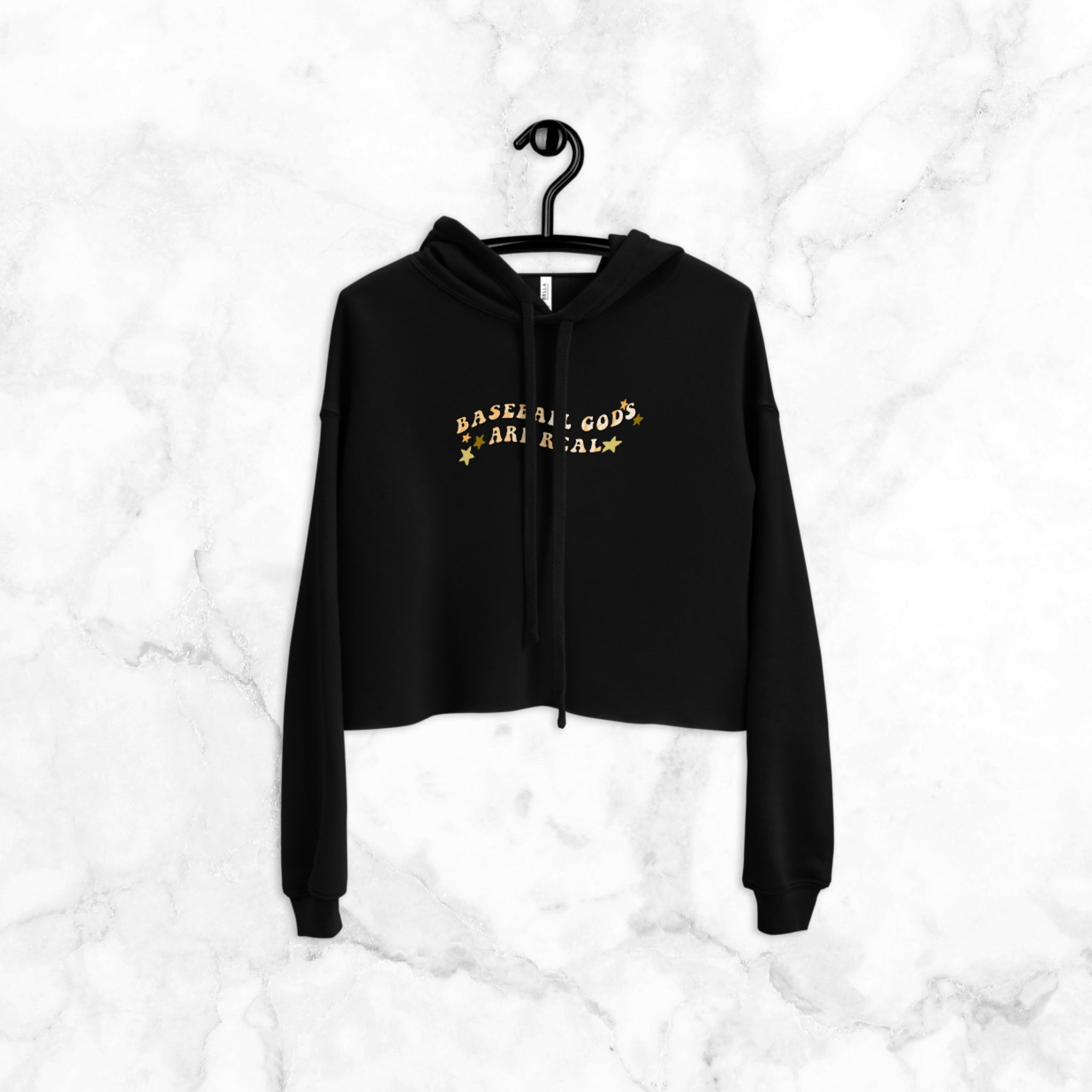Baseball Gods are Real | Cropped Hoodie