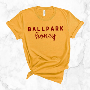 ballpark honey | unisex tee