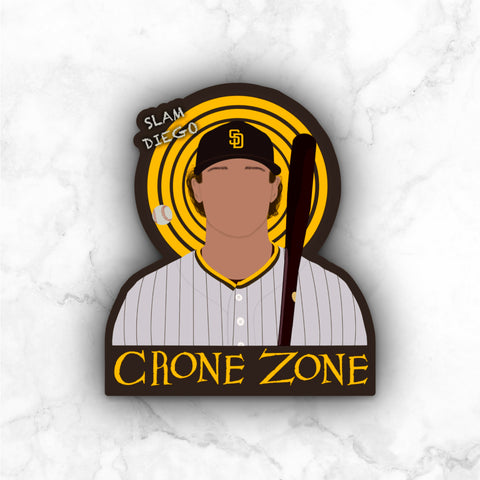 The Crone Zone (PREORDER) | vinyl sticker