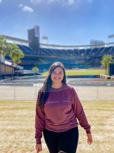 baseball lover | sweatshirt