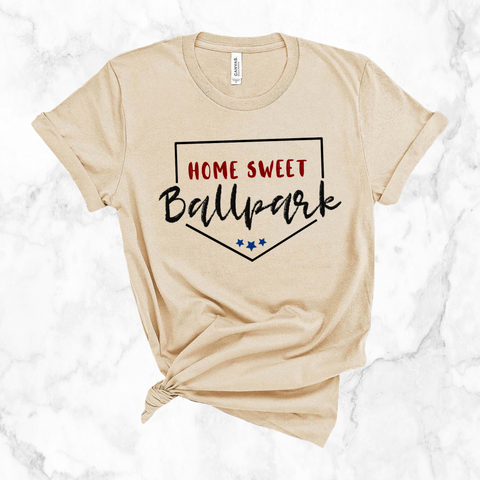 Home Sweet Ballpark | unisex tee