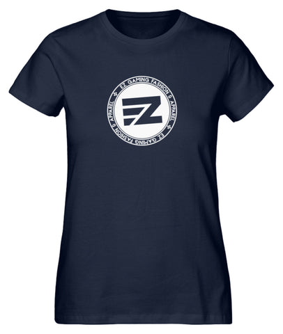 EZ Fashion Damen T-Shirt aus Bio-Baumwolle in navy