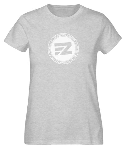 EZ Fashion Damen T-Shirt aus Bio-Baumwolle in heather grey