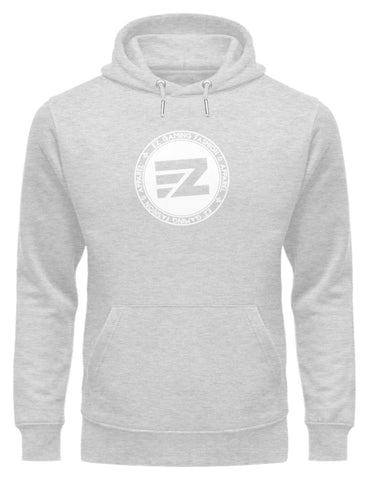 EZ Fashion Kapuzensweater aus Bio-Baumwolle in heather grey