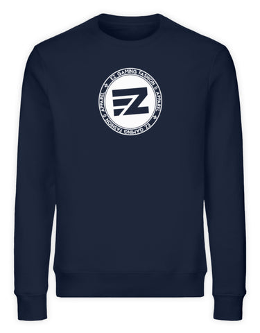 EZ Fashion Sweatshirt aus Bio-Baumwolle in navy