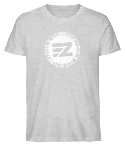EZ Fashion Herren T-Shirt aus Bio-Baumwolle in heather grey