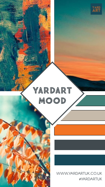 The meaning of YARDARTs Mood & Brand Colours!