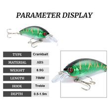 Load image into Gallery viewer, Hardcore Fish & Game Crankbait Lures- Color Options Available - Hardcore Fish & Game