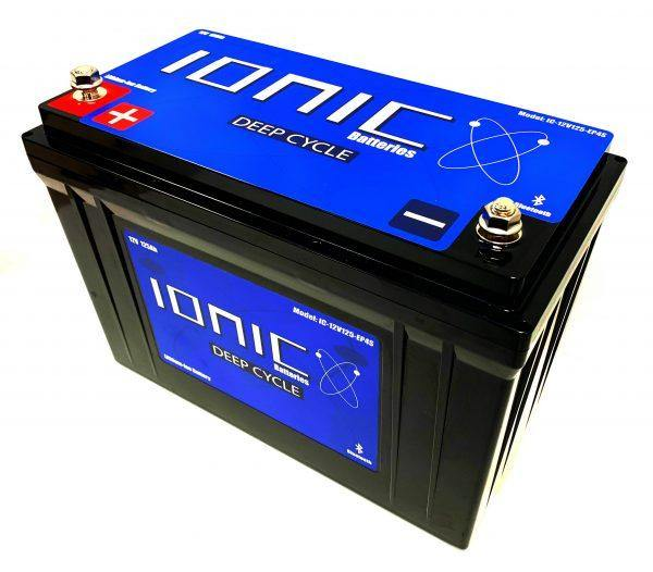 12 Volt 125Ah Lithium Deep Cycle Battery