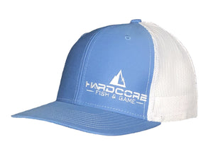 Snapback Trucker Hats w/ Embroidered Logo -Color Options Available - Hardcore Fish & Game