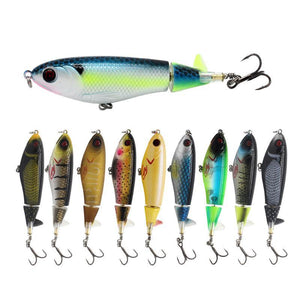 Hardcore Bass Lures, Topwater Fishing Lure, Popper Fishing, Freshwater, Saltwater