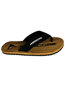 Flippin' Hardcore Woodgrain Flip Flops - Hardcore Fish & Game