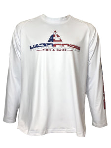Old Glory Long Sleeve Shirt