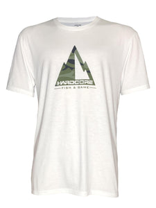 Hardcore Mountain Original Soft T-Shirt (Color Options Available) - Hardcore Fish & Game