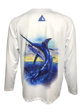 Load image into Gallery viewer, Hardcore Action Blue Marlin Fishing Shirt - Hardcore Fish & Game