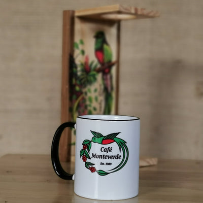 Cafe Monteverde Porcelain Mug Arabica Coffee Costa Rica