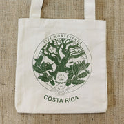 Life Monteverde Tote Bag Cotton Handmade Costa Rica Arabica Coffee