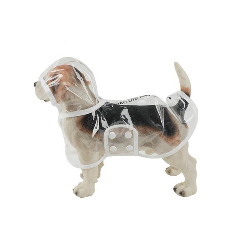 Hooded Pet Raincoat