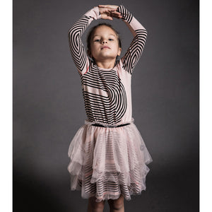 Nunu Spiral Tulle Dress