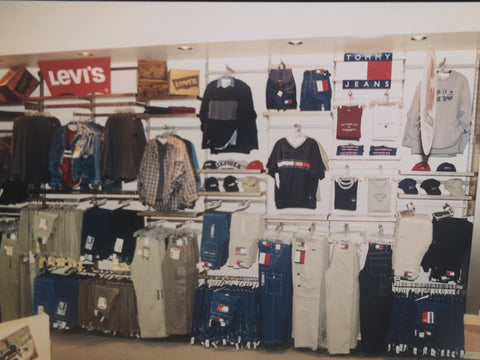 Shop Pentagone with Tommy Hilfiger and Levi's