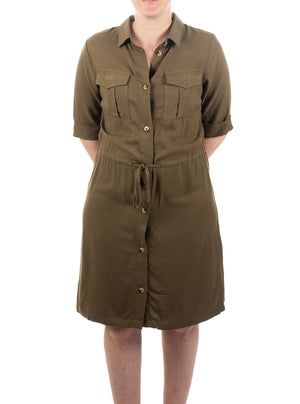 Robe d'inspiration militaire