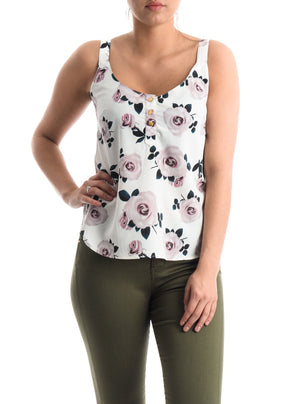 Camisole with buttons Pentagone
