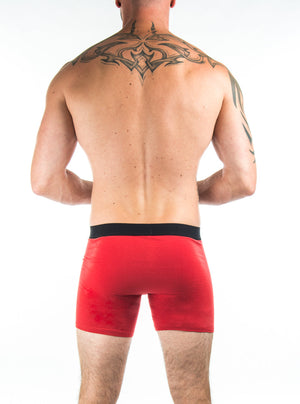 Boxer One rouge