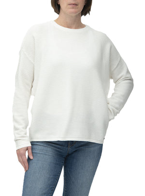 Ribbed sweater | Fransa