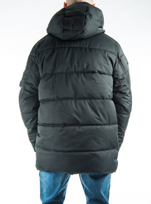 Coat Point Zero detachable hood