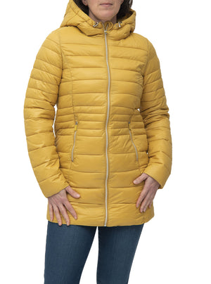 Ultra light quilted coat | Point Zéro