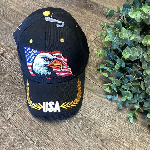 Hats | USA Eagle | Trendy T Shirts Trendy T Shirts Black