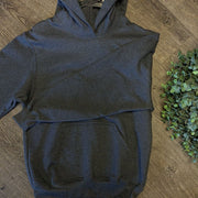 Kid Blank Hoodies Hoodies Trendy T Shirts S Dark Gray