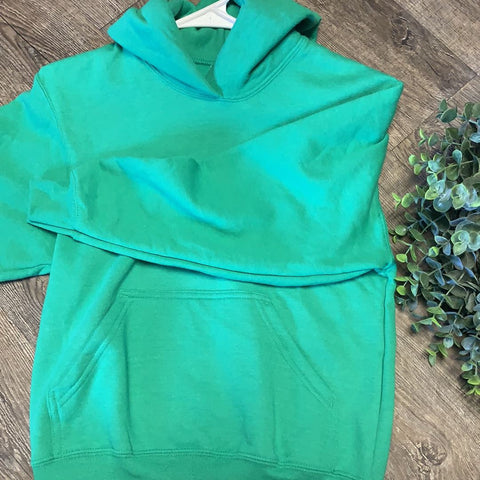 Kid Blank Hoodies Hoodies Trendy T Shirts S Green