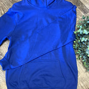 Kid Blank Hoodies Hoodies Trendy T Shirts S Royal Blue