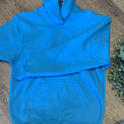 Kid Blank Hoodies Hoodies Trendy T Shirts S Teal