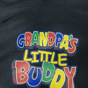 Kid Heat Pressed Hoodies Hoodies Trendy T Shirts lg Grandpa's Buddy Black