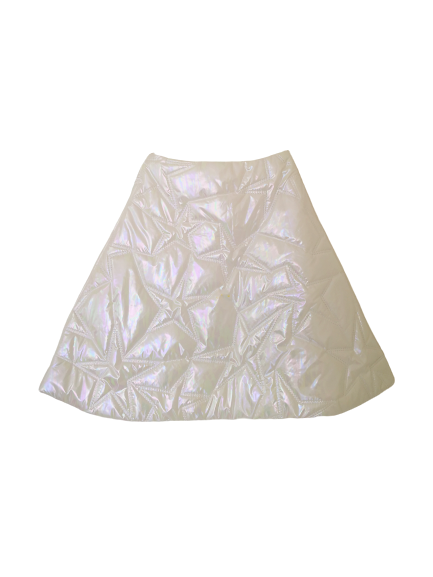 Star Quilted A-line Skirt