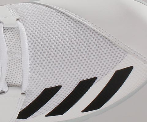 PU reinforced toe section provides batting protection