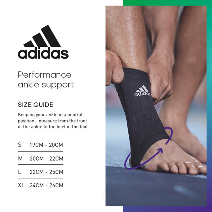 adidas ankle support size guide