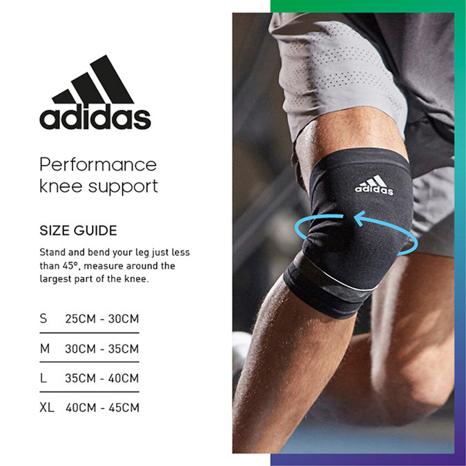 knee support size guide