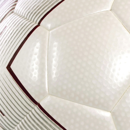SUMMIT Sport's Evo X match football has a dimple grain outer.