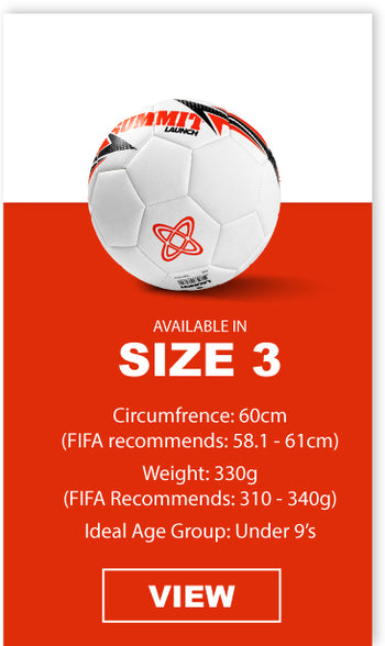SUMMIT Football in size 3 is the ideal ball for under 9 players