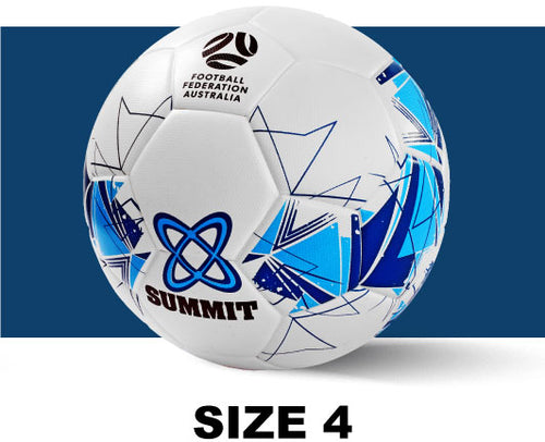 Soccer ball available in size 4