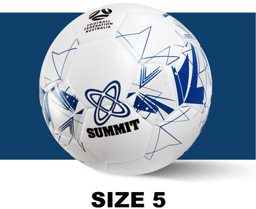 Soccer ball available in size 5